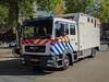 Mounted police MAN truck (Dutch emergency photos) Tags: politie police polizei man vrachtwagen truck horse horses bereden beredenpolitie paarden bxrg41 mounted