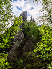 Bodetal - Harz (lotl.axo) Tags: xf18135mm landschaft felsen fuji xt1 frühling wald gegenlicht natur bäume backlight forest landscape nature paysage rocks spring trees woods deutschland germany harz bodetal sachsenanhalt hdr travelphotography reisefotografie
