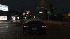 Rainy Night - GTA V (Stellasin) Tags: game gaming car gta gtav photography blur screenshot motion night rain dark darkness beauty