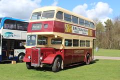 Former Faversham farmer's transport. (steve vallance coach and bus) Tags: ffn399 guyarab111 parkroyal eastkent southeastbusfestival detling preserved