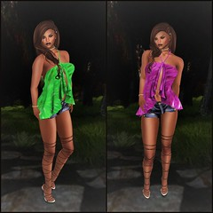 +FCC+ Flare Halter Top @ Twe12ve (melyna.foxclaw) Tags: sys fcc adonesshair cae facepalmclothingcompany flare iheartslfeed newrelease twe12ve dollyheels haltertop secondlife