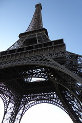 Everything depends on your point of view:  the Eiffel Tower (Muddy LaBoue) Tags: iledefrance monuments towers iconicarchitecture 1889 2017 july worldexposition eiffeltower paris france attractions tourism structures panasoniclumixdmctz60 summer tower architecture