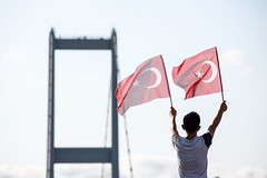 Anniversary of the July 15 (muratsengul44) Tags: istanbul bosphorus turkey coupattempt military july