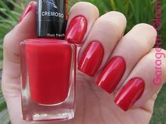 Sensual (La Femme) (Thais Frech) Tags: vermelho esmalte lafemme cremoso sensual