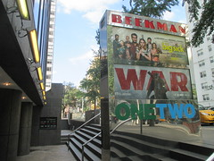 War of the Planet of the Apes Poster 8581 (Brechtbug) Tags: war planet apes poster beekman theater marquee billboard ad standee posters 2017 film movie profile 07152017 action movies films billboards plastic statue scary adventure ceasar caesar theatre advertisement chimp chimpanzee gorilla maurice orangutan 66th 67th street 2nd avenue new york city