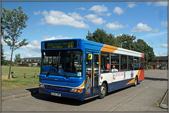 34643, Taper Way (Jason 87030) Tags: taperway pan dart dennis slf pointer daventry northants 10 rugby ilce camera vehicle stagecoach gx54dwo 34643 estate route weather july 2017