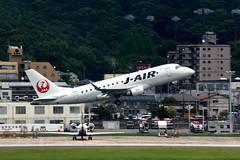 J-Air JA211J (Howard_Pulling) Tags: fukuoka airport fuk fukairport japan japanese howardpulling