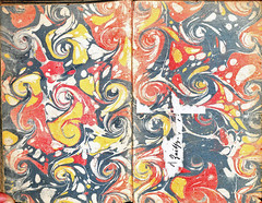 Mariana-Marbled endpapers-1625 (melindahayes) Tags: 1625 bx3705a2m31625 marianajuande discours octavoformat french
