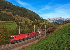 ÖBB 1116 154 (maurizio messa) Tags: öbb rh1116 austria österreich tirol cargo mau bahn ferrovia freighttrain fret guterzuge nikond7100 treni trains railway railroad taurus siemens es64u2