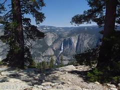 16 Yosemite Falls from Sentinel Dome (annestravels2) Tags: california yosemitenationalpark mountains yosemitefalls yosemitevalley waterfall