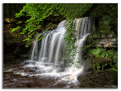 Tumbling Waters (peterwilson71) Tags: landscape water river rock summer beautiful fall leaf wood splash waterfall cascade stream flow moss wet wild