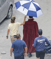 UHQ Avengers: Infinity War Set Pictures (anythingdoctorstrange) Tags: avengers infinity war atlanta usa 28 jun 2017 cast member benedict cumberbatch red cape walks set during filming is modeled after a new york city street celebrity entertainment arts georgia united states north america actor male personality 60706170 benedictcumberbatch markruffalo avengersinfinitywar robert downey jr