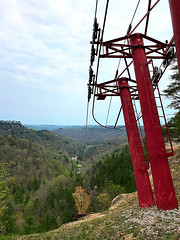 for those that don't hike (#KPbIM) Tags: 2017 nature travel april river trip kentucky gorge adventure red vacation spring hiking column lift