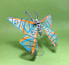 LEGO Mecha Moth-01 (ToyForce 120) Tags: lego robot robots mecha mech mechanic legomech legomoc