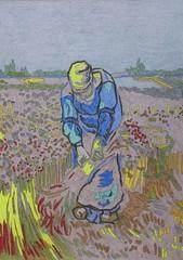 Paysanne gerbant le blé - Van Gogh - 1889_0 (Luc II) Tags: vangogh