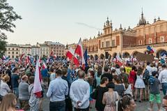 IMGP7305 (TomaszMazon) Tags: protest democracy krakow poland court antigovernment crowd