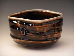 (adam gates) Tags: ceramics pottery santafe santafeclay sodafired tenmoku teabowl chawan