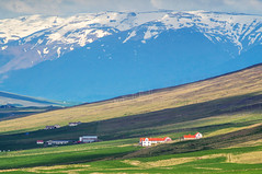 Icelandic countryside (ExceptEuropa) Tags: hanimextokina300mmf55 sonynex3n building countryside culture europe iceland icelandic landscape manual mirrorless mountain nature photographer photography rural snow snowmountain sony travel