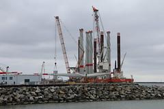 Sassnitz, Offshore-Terminal (julia_HalleFotoFan) Tags: rügen sassnitz fährhafensassnitz offshoreterminal hafen ostsee jasmund