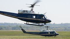 UH-1N 69-6663 & 69-6656 (Vzlet) Tags: uh1n 696663 bell huey iroquois 696656 frederick kfdk fdk uh1