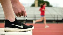Lace Em Up (disgruntledbaker1) Tags: nike shoe runner running lace