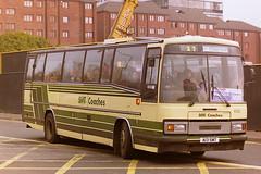 SMT COACHES 1335 A13SMT E353KSF (bobbyblack51) Tags: smt coaches 1335 a13smt e353ksf leyland tiger duple 340 eastern scottish yl353 glasgow 1997