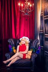 Flandre Scarlet (bdrc) Tags: asdgraphy flandre scarlet touhou project sorluiiyan xinsquare kanekitty vampire virgin killer sweater sexy fanservice loli girl cosplay portrait tight back wings prop indoor studio melody flash godox ad600 strobe nikon nikkor 50mm f2 manual legacy prime sony alpha a6000 apsc malaysia 50mmf2ai