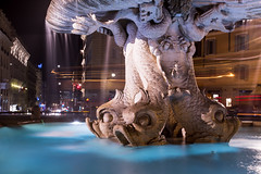 fontana del tritone (sga77) Tags: delfini roma bernini fontana piazza barberini