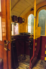 Bo'ness Museum of Scottish Railways - Glasgow Subway Carriage Controls (Le Monde1) Tags: boness kinneil lemonde1 nikon d800e museum heritage uk bonesskinneilrailway museumofscottishrailways glasgow subway carriage controls scotland steam railway