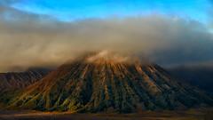 Mount Bromo (Ramesh Kurup) Tags: bromo indonasia travel volcano fujifilm fuji fo fog sunrise goldenlight