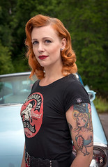 Rockabella,..Skultuna 2017. (@FTW FoToWillem) Tags: rockabilly rockabella tattoo tat tatoe tattooed tattoogirl red redhair hair zweden sverige sveden skultuna girl girltattooed cargirlshoot cargirl pinup custom customshow ink inkt kvinde kvinna kvinne wanita nainen stelpa gadis showgirl woman meid babe ragazza noia pige knabino mujer female femme femeie kona kobieta portret portrait portet portreto portait pose people gal bombshell retrato