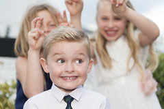 I Know They're There! (Lightning Lee) Tags: pauldemetriadeswedding funny comical pageboy bridesmaids wedding