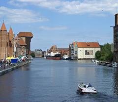 Gdansk Waterways (ChiralJon) Tags: długi targ zielony most bridge gdansk poland dlugi polska pologne польша гданьск 格但斯克 danzig polonia