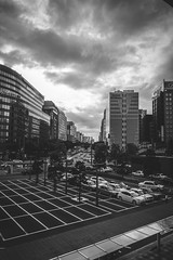 The view from Hakata Station (yoshi_2012) Tags: streetphotography スナップ 富士フイルム fujifilm fujixseries back alley backstreet 路地裏 裏路地 travelphotography 博多駅 福岡 fukuoka hakata
