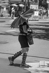 Another style above all (RaminN) Tags: style street gothic umbrella girl oregon portland