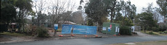 Large corner block cleared (spelio) Tags: canberra act australia 2017 july house housing place homes architecture mrfluffy asbestos removal demolition clearing blocks