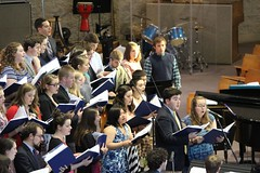 IMG_6850 (comonewman) Tags: notredamefolkchoir choir concert newman chapel singing music