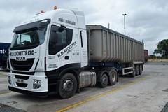 DSC_0002 (richellis1978) Tags: truck lorry hgv lgv cannock haulage transport logistics iveco stralis hiway ricketts bd16zre
