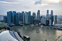 City Skyline (chooyutshing) Tags: cityskyline marinabay singapore