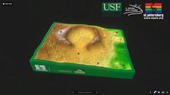Abercrombie Mound (Lori D. Collins) Tags: laserscanning 3d mound stpetersburg florida archaeology