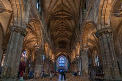 St. Giles' cathedral Edinburgh Scotland (ralfkai41) Tags: schottland kirche architektur scotland edinburgh church historisch stgilescathedral architecture historical cathedral kathedrale interieur säulen