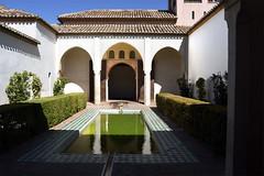 Patio de la Alberca, Alcazaba, Malaga, Andalusia, Spain (rmk2112rmk) Tags: patiodelaalberca alcazaba malaga andalusia spain courtyard moorish fortress málaga