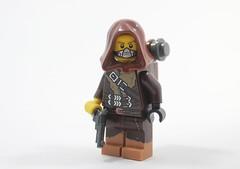 Figbrawl R4: Survivor (Jamesbrick) Tags: lego jamesbrick 2017 figbrawl apoc post postapoc apocalypse postapocalypse survivor survive minifigure fig minifig dotagswork