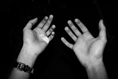 Project Shot 40 (These Hands) (Dove - Photography) Tags: dove general photography 2017 summer daily project day self portraits chill monochrome blackandwhite black white stuff