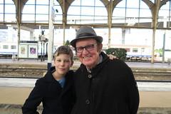 (andrew gallix) Tags: william yeartwelve dad nice railwaystation