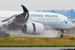 Cathay Pacific Airbus A350-941 cn 128 F-WZFH // B-LRS (Clément Alloing - CAphotography) Tags: cathay pacific airbus a350941 cn 128 fwzfh blrs