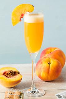 Sweet Bubbly Peach Bellini Mimosa