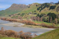 Over the river (Karen Pincott) Tags: tematapeak tematahills havelocknorth newzealand hawkesbay tukituki river winter