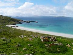 Sound of Barra from Eriskay (Niall Corbet) Tags: scotland outerhebrides hebrides barra eriskay sea coast beach blue turquoise