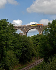 Moorswater Under The Bridge (Richie B.) Tags: 6c35 moorswater likeard cornwall colas rail general electric class 70